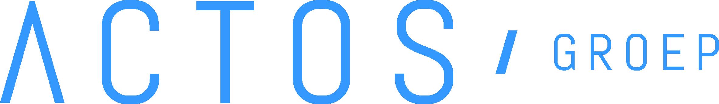 Actos Groep Logo Blue Wo Box